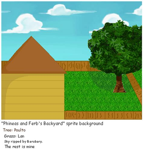 Phineas And Ferb Backyard by Phineas And Ferb S Backyard By Envytheskunk On Deviantart