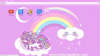 unicorn theme for google chrome unicorn chrome themes themebeta