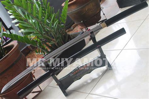 Pedang Samurai Shirasaya Black Kanji pedang samurai murah katana wakizashi custom