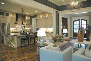 Paint Colors For Open Floor Plan by Design Trends At Kings Chapel Parade Of Homes The