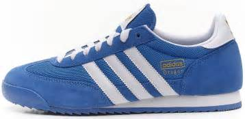 New Ransel Adidas 055 B adidas originals retro trainers blue white g50922