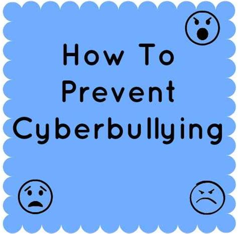 ten tips to prevent cyberbullying the anti bully blog how to prevent cyberbullying our family world