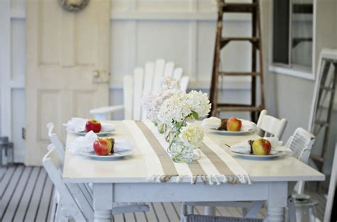 coastal cottage decorating cottage coastal style coastal decor table by the sea