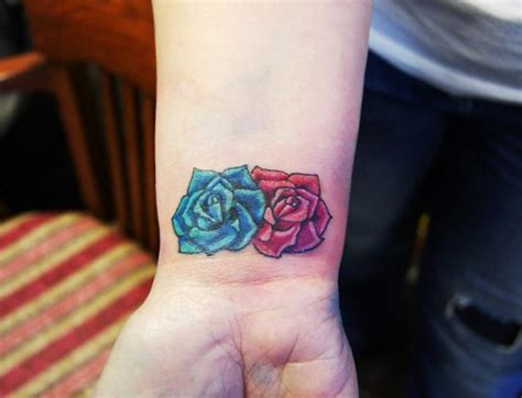 flower on wrist tattoo several beautiful wrist designs for