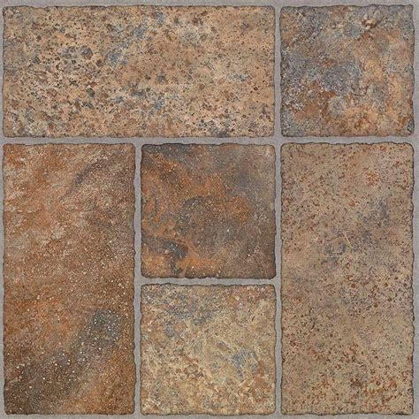 trafficmaster 12 in x 24 in peel and stick industrial stone vinyl tile ss5083 the home depot