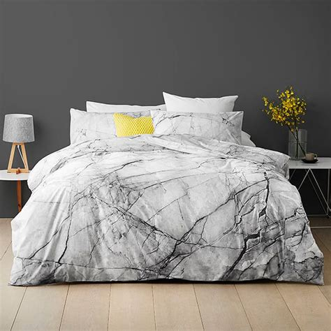 Quilt Covers For by Marble Quilt Cover Set Target Australia