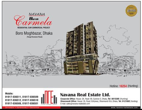 navana real estate ads of bangladesh