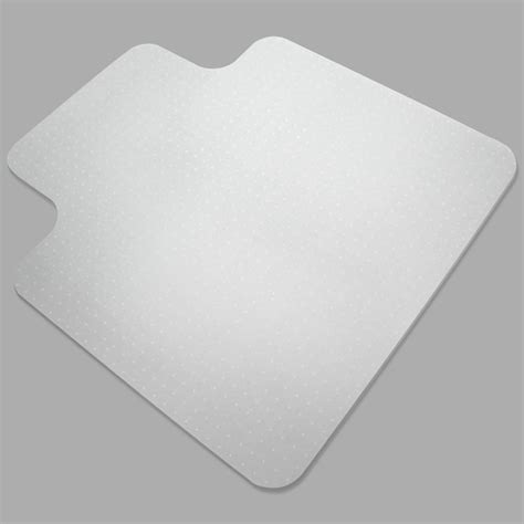 carpet floor office computer work chair mat vinyl protector   mm
