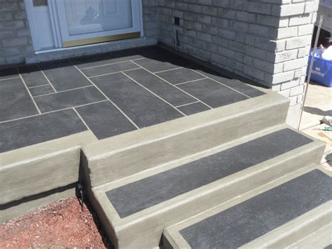 Resurfacing Concrete Porch And Steps 17 best images about sted concrete on concrete patios travertine and outdoor
