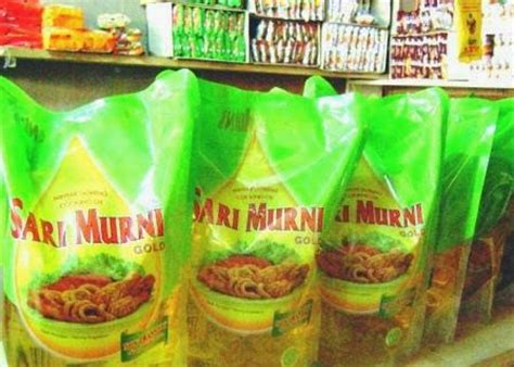 Minyak Goreng Sari Murni 1 Liter brondol 30 minyak goreng sari murni dan gurih