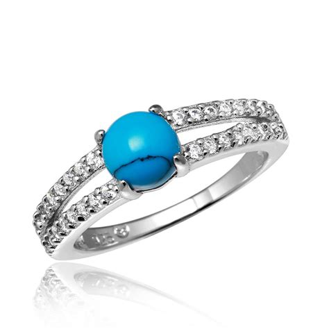 sterling silver turquoise ring sbgr01056
