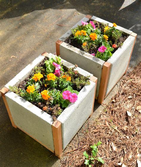 Paver Planters by White Home Depot Dih Workshop Modern Paver Planter