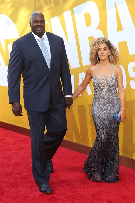 Shaquille Oneal Laticia Rolle Sandra Rose