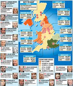 map uk south divide the real south divide how the south east is