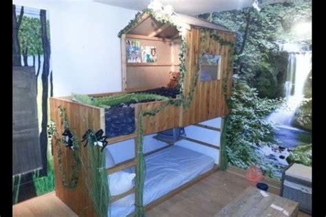 bett baumhaus baumhaus bett tree house bed kindertr 228 ume