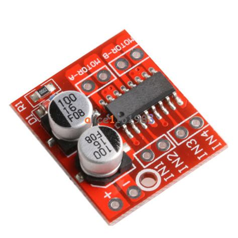 Mini L298n Dual Motor Dc Driver 1 5a mini dual channel motor driver board beyond replace