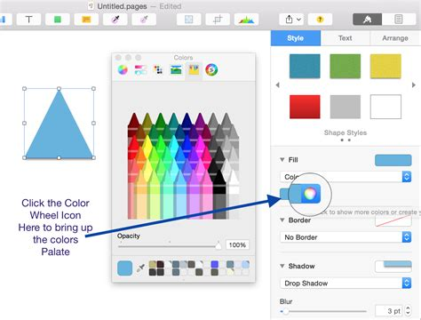color fill macos choose custom colour for shape fill in pages 5 2