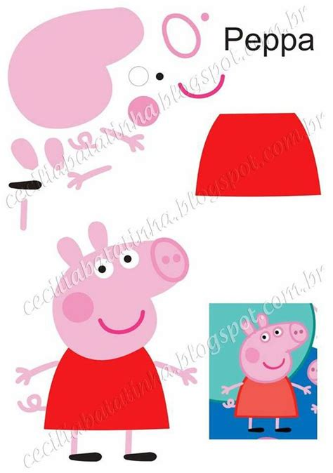 peppa pig template templates peppa pig and pigs on