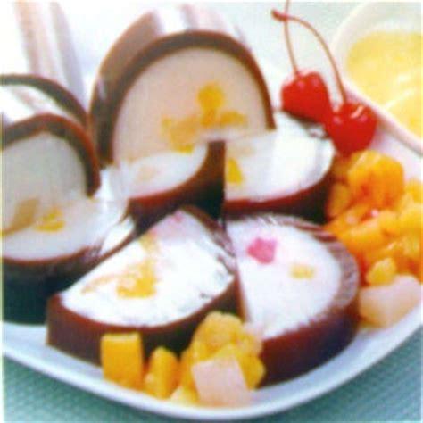 resep puding buah koktil resep masakan indonesia