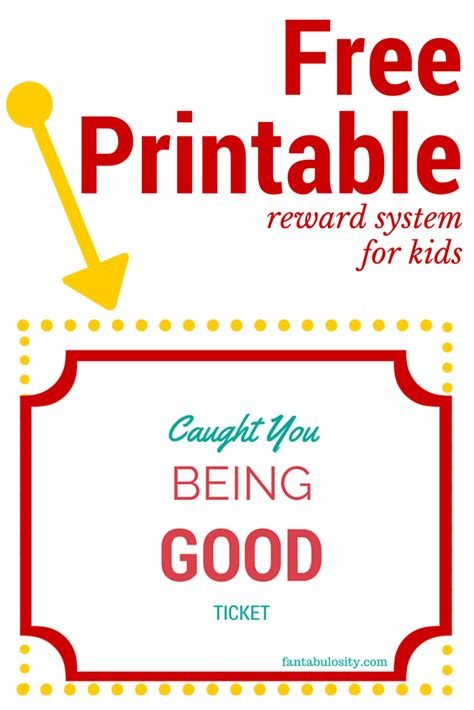 printable tickets for good behavior search results for caught being good printable