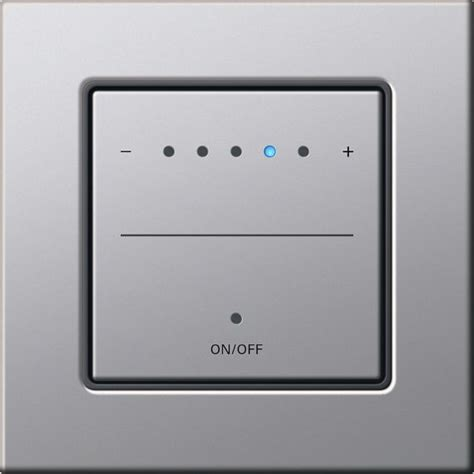 Le Touch Dimmer by Touch Dimmer By Gira Design E22 Almuinium Intelligent