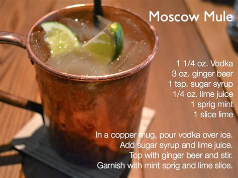 moscow mule recipe dishmaps