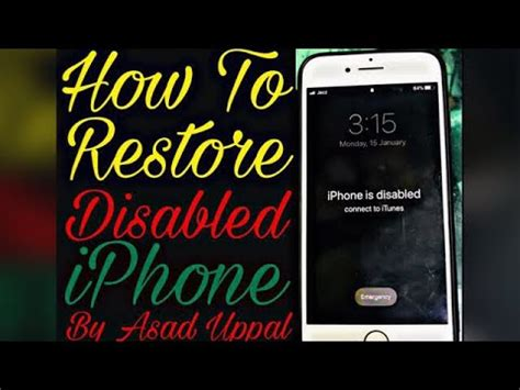 easyiphone  disabled connect  itunes iphones