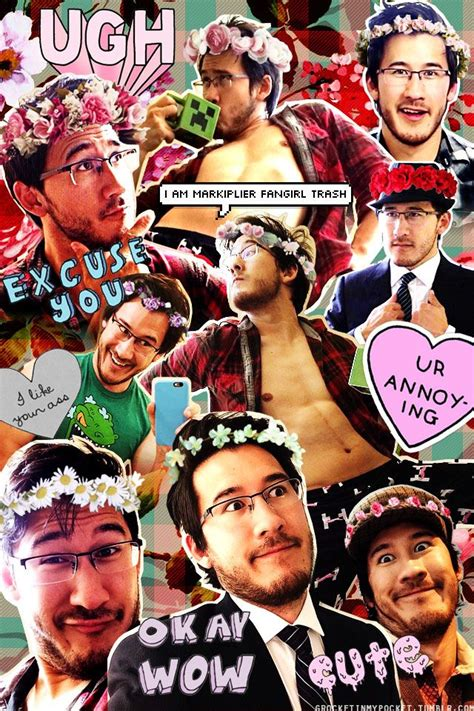 wallpaper iphone youtubers markiplier collage tumblr markiplier