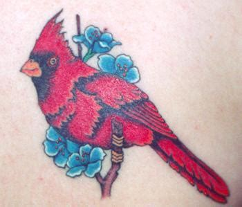 cardinal bird tattoo cardinal tattoos gallery