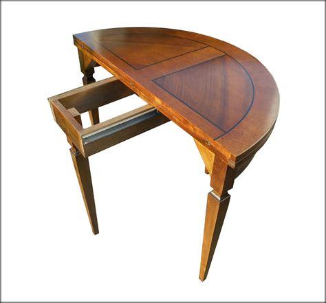 tavolo consolle apribile tavolo consolle apribile mezzaluna la commode di davide
