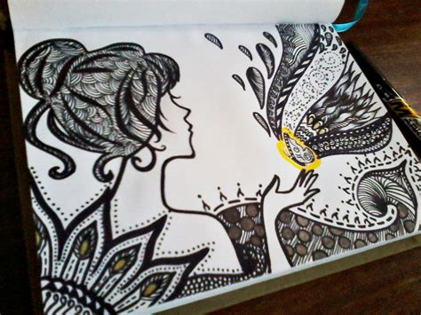 pen untuk doodle serba serbi zentangle