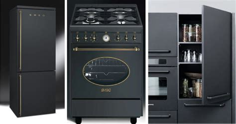 Matte Black Appliances | matte black and gold appliances b g pinterest