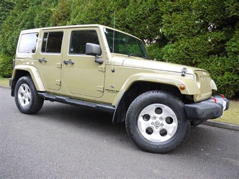 jeep wrangler commando used commando green jeep wrangler for sale surrey