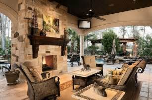 outdoor living rooms outdoor living room with double sided fireplace