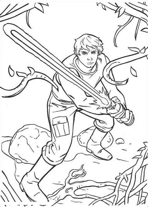Luke 6 Coloring Pages by Luke Skywalker Free Colouring Pages