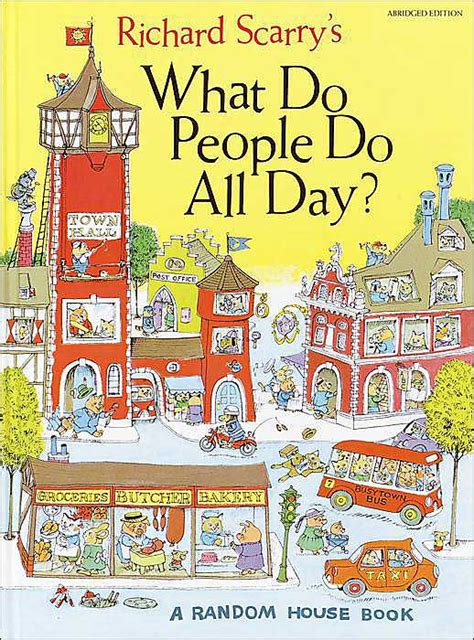 all the days of my books the richard scarry books
