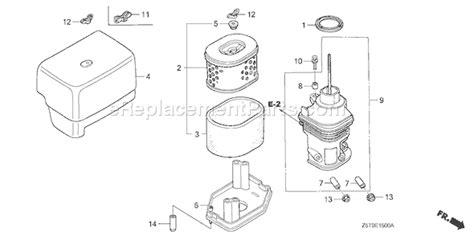 Honda Gx390ut1 Parts List And Diagram Type Qa2 Vin