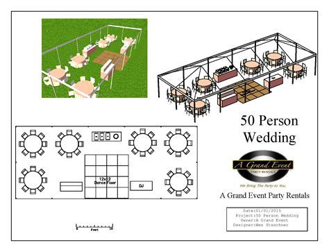 48 table fits how many 50 person wedding package a grand event