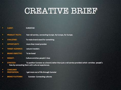 creative design brief questions 17 best images about creative brief exles on pinterest