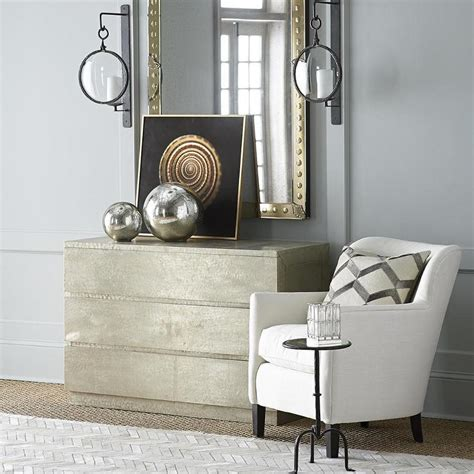 Sheen Chest Of Drawers In Gold Sheen Chest