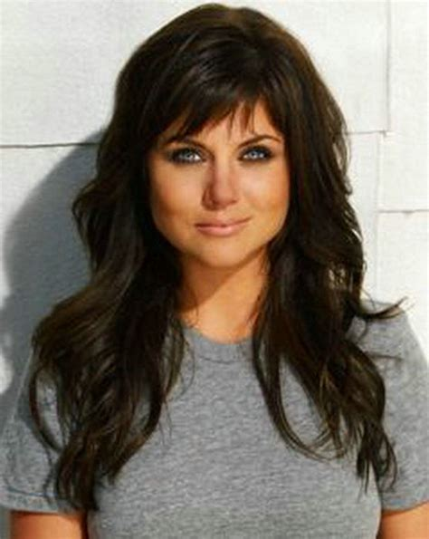 wet and wavy with a bang celebrity brown wet and wavy indian remy human hair lace