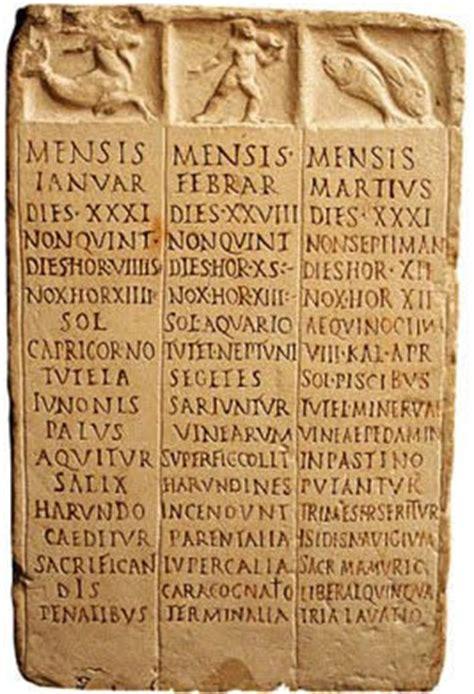 Calendario Griego C 205 Rculo De Aficiones El Origen Calendario