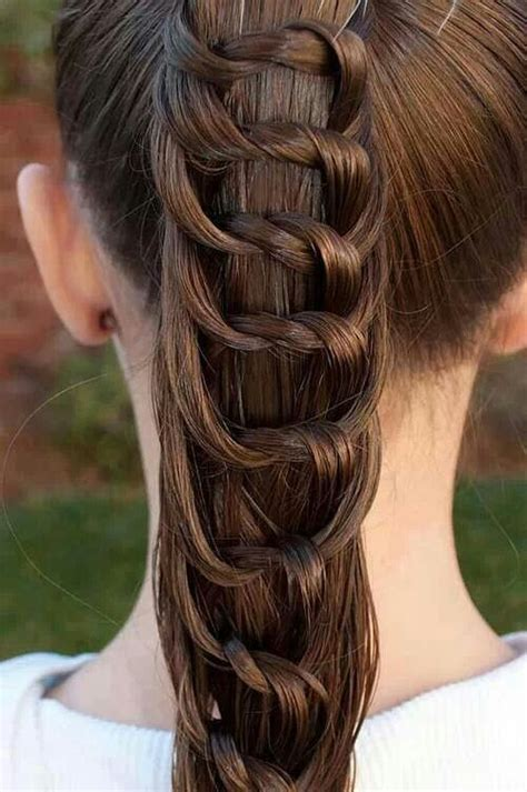 hairstyles braids cool interesting braid hairstyle s are cool pinterest