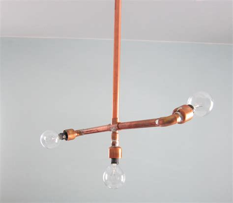 Copper Light Fixtures by Diy Copper Light Fixture