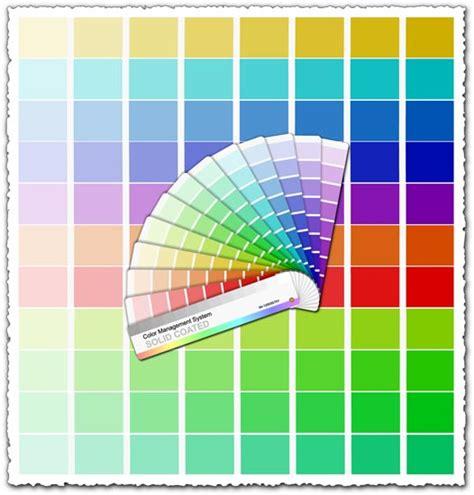 palette pantone cmyk pantone palette vector