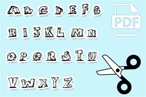 Buchstaben Drucken by Basteln Mit Kindern Kribbelbunt