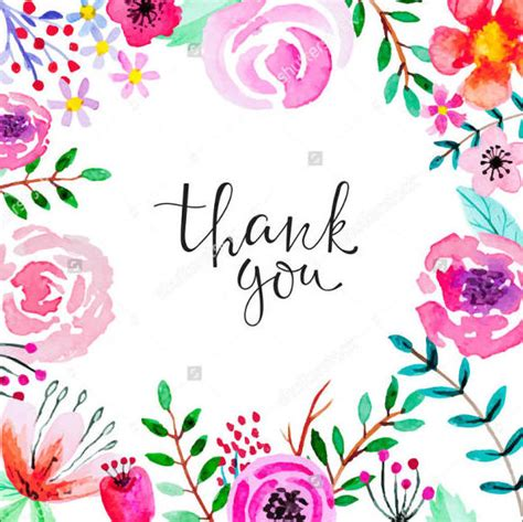 thank you card template flowers 7 vintage thank you cards free sle exle format