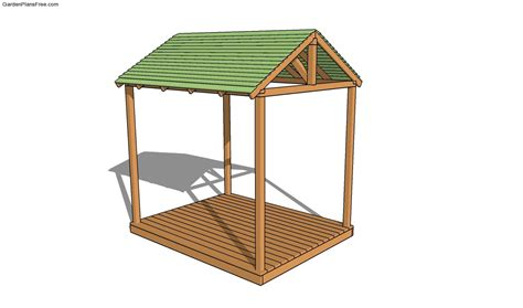 Backyard Bunker Plans by Picnic Shelter Plans Free Garden Plans How To Build