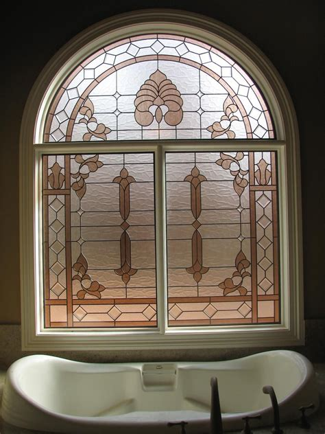 stained glass bathroom window hand crafted stained glass bathroom window by the looking