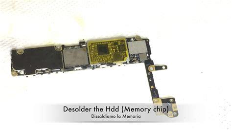 iphone  memory upgrade    gb  replacing nand flash youtube